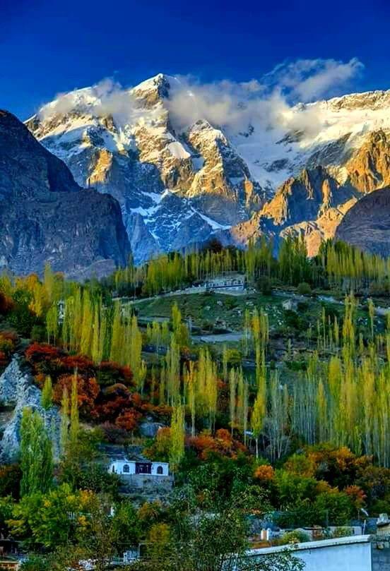 Pakistan Scenic Landscape Mountain Landscape Scenic