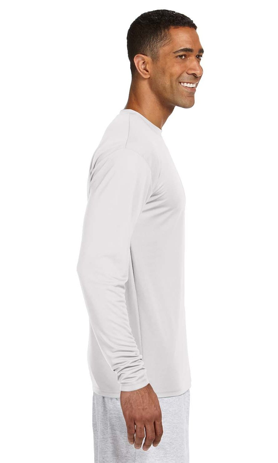 A4 N3165 Men S Long Sleeve Cooling Performance Crew Ad Men Ad