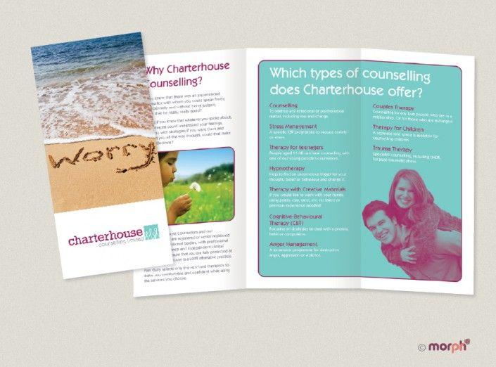Leaflet design by Morph PR and Marketing wwwmorphprandmarketing
