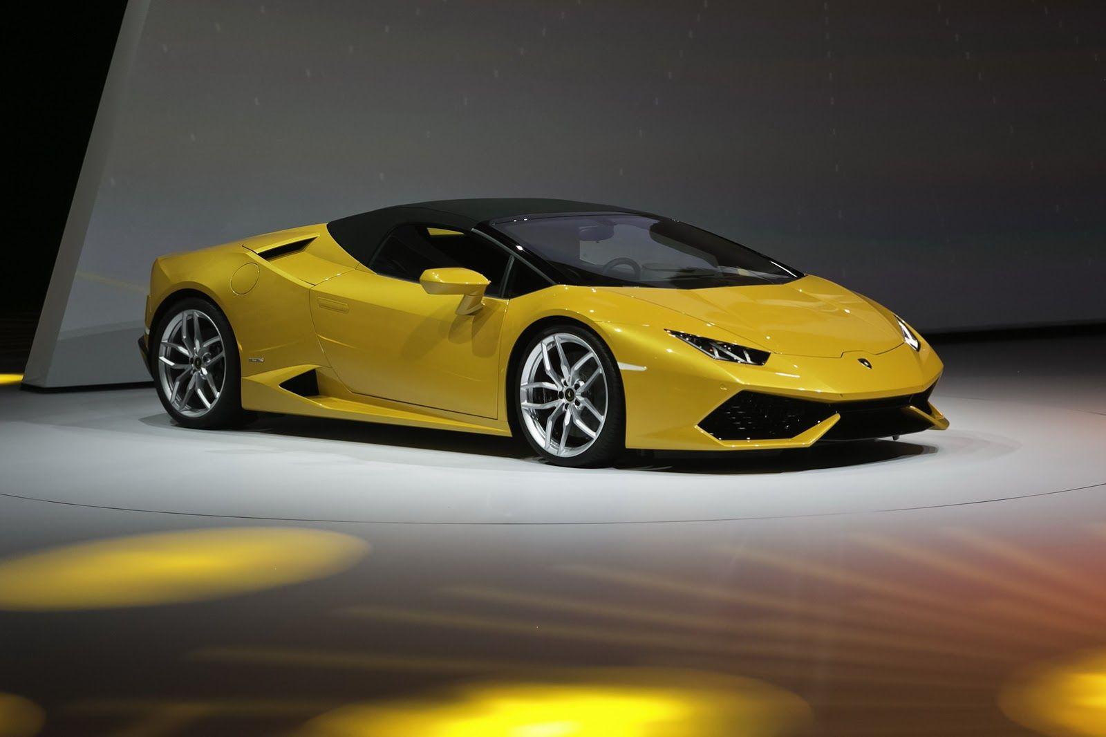 Lamborghini Huracan LP Spyder AU Wallpapers and HD | Art Wallpapers ...