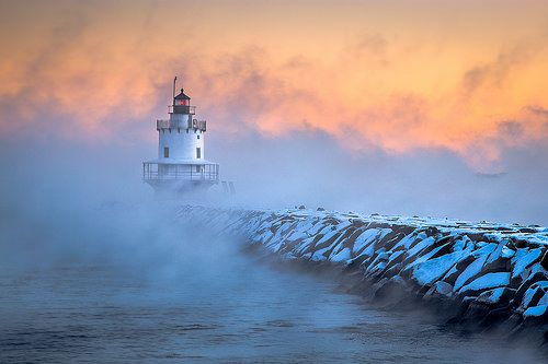 nice Amazing Weather photos - Spring Point Ledge Sea Smoke #Weather #Images Check more at http://sherwoodparkweather.com/amazing-weather-photos-spring-point-ledge-sea-smoke-weather-images/