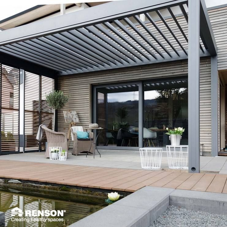 Our Patio Covers Are Perfect For Every Season Patiocover Terrace Outdoor Terracecovering Terracecover Loggia Wooddesign Wheremagich Pagoda Patio Modern Pergola Pergola