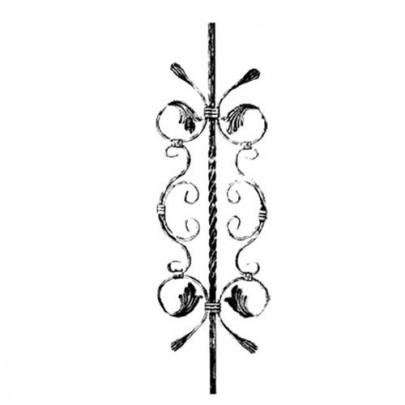 SIMEN METAL™ 21.063 Wrought Iron Forging Ornamental Balustrade Forged Pickets