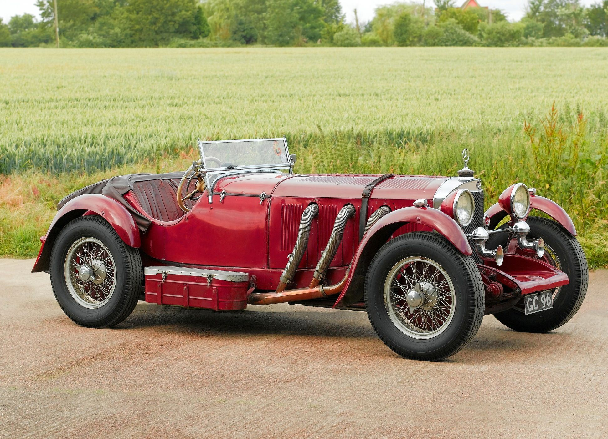 Most expensive cars sold at auction #21: 1929 Mercedes-Benz 38:250 ...