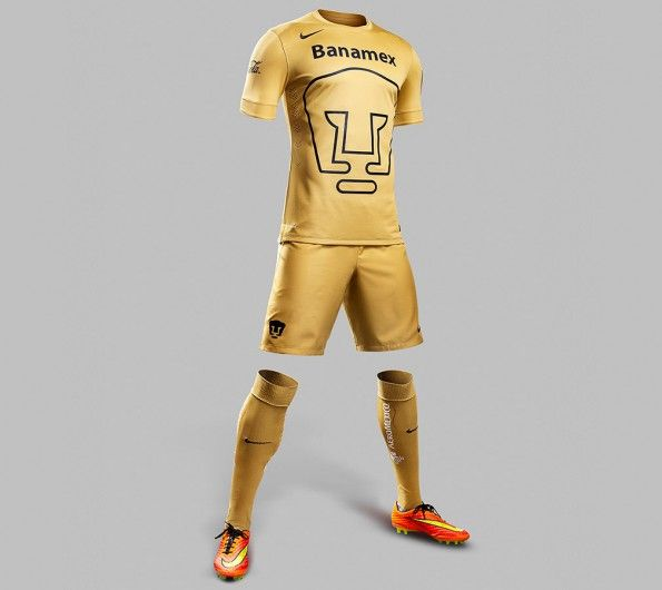Divisa Pumas Unam 2014-15 Nike