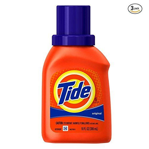 Amazon Com Tide Liquid Laundry Detergent Original Scent Travel Size 10oz 3 Pack Home Amp Kitchen Tide Laundry Tide Laundry Detergent Laundry Liquid