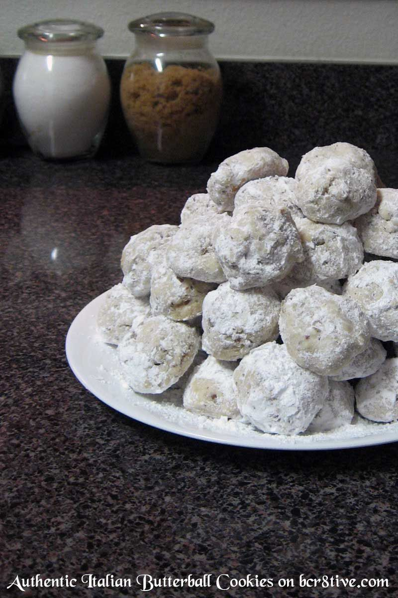Authentic Italian Butterball Cookies Butter ball cookies