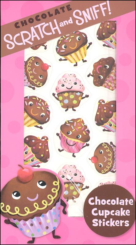 Chocolate Cupcake Scratch & Sniff! Stickers | Main photo (Cover)