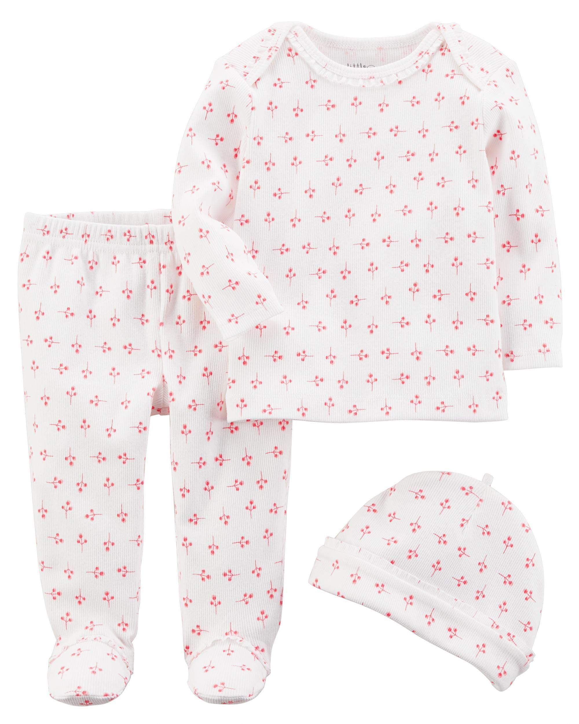 21f03f50 Baby Girl - 3-Piece Certified Organic Take-Me-Home Set - $15.00 ...