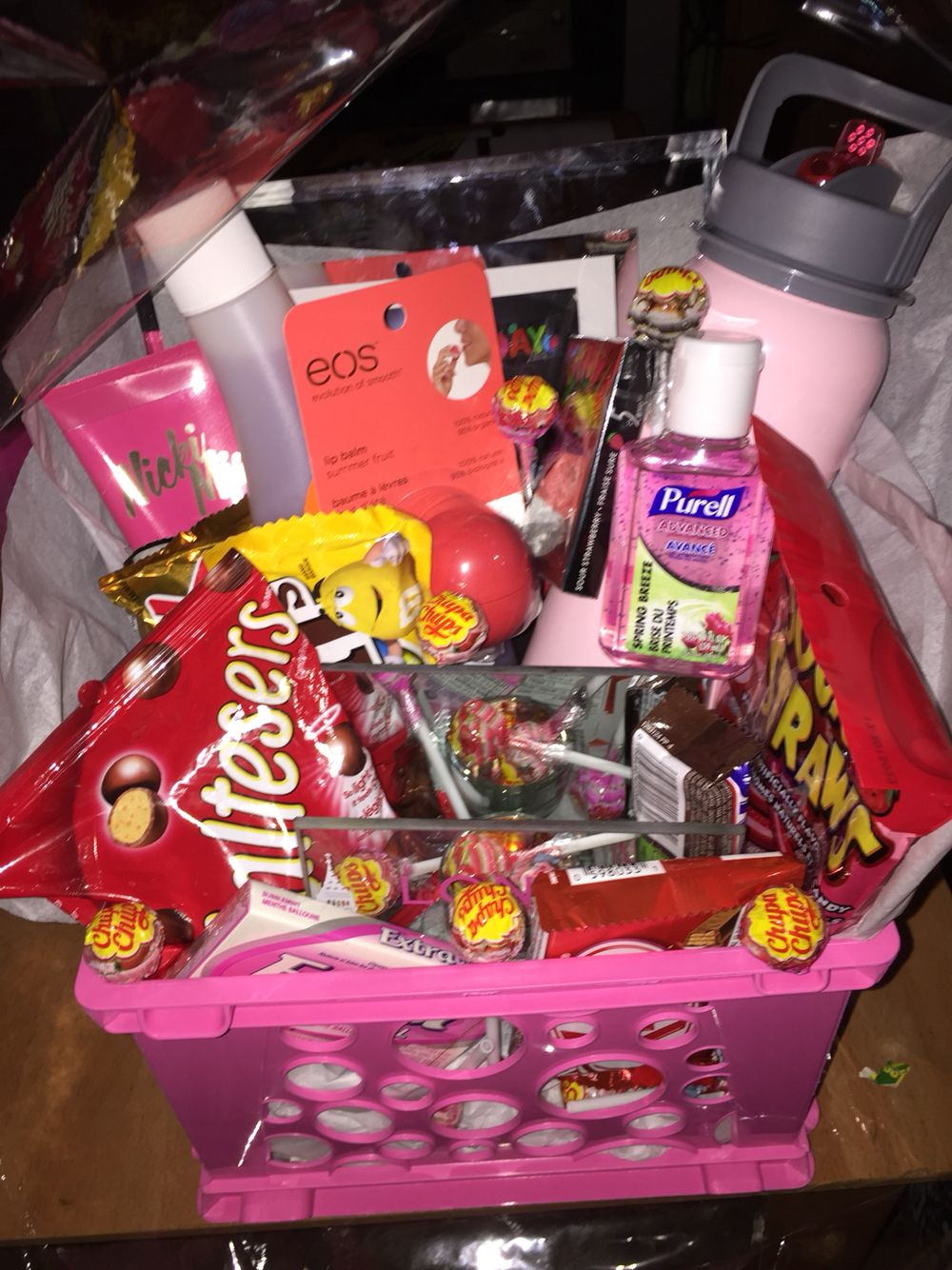 Made a gift basket for my best friends birthday with little made a gift basket for my best friends birthday with little things she likes negle Choice Image