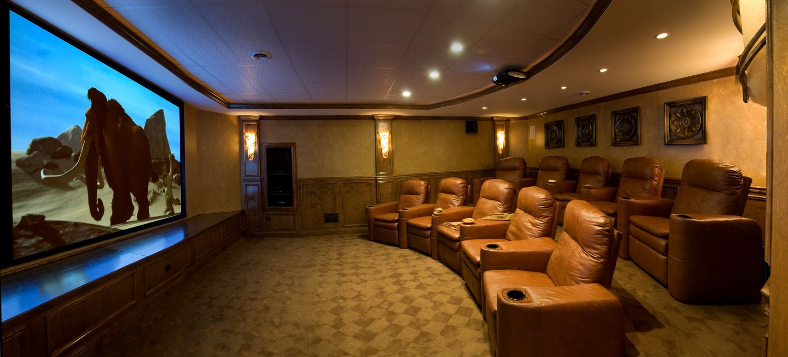 Best Of Basement theater Rooms