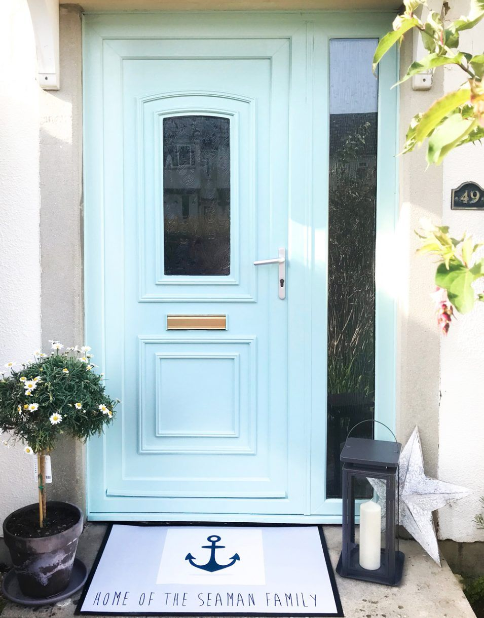 Painting a UPVC door can totally transform a home and