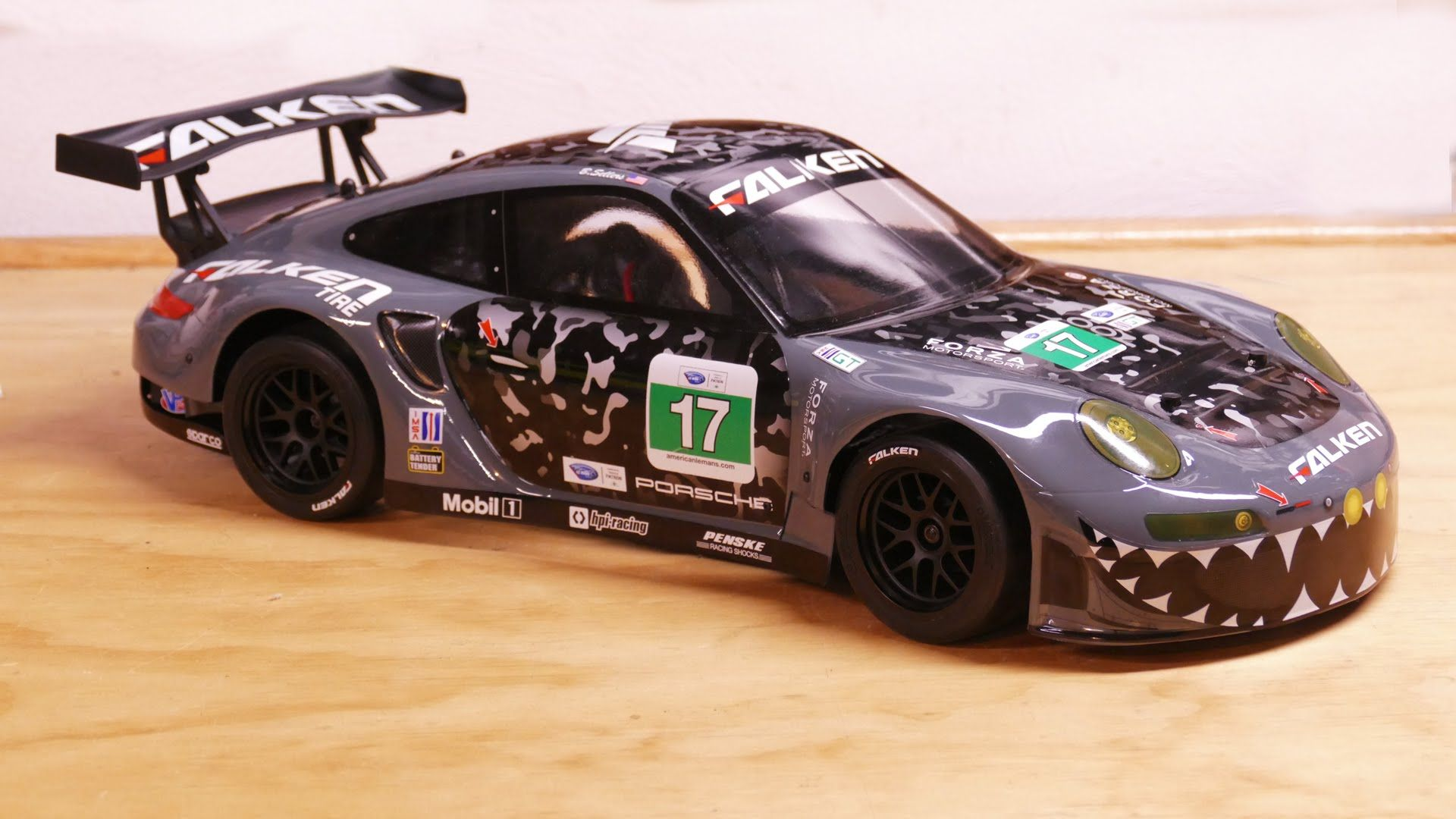 HPI Racing RS4 Sport 3 Flux Porsche 911 Falken Unboxing