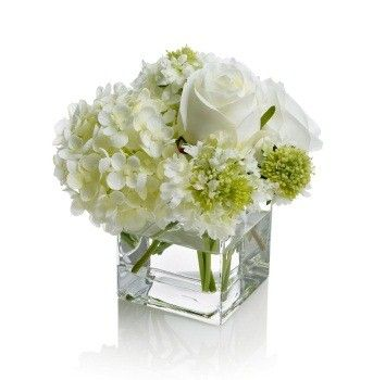 Small Table Arrangements Calabugaboo White Floral Arrangements