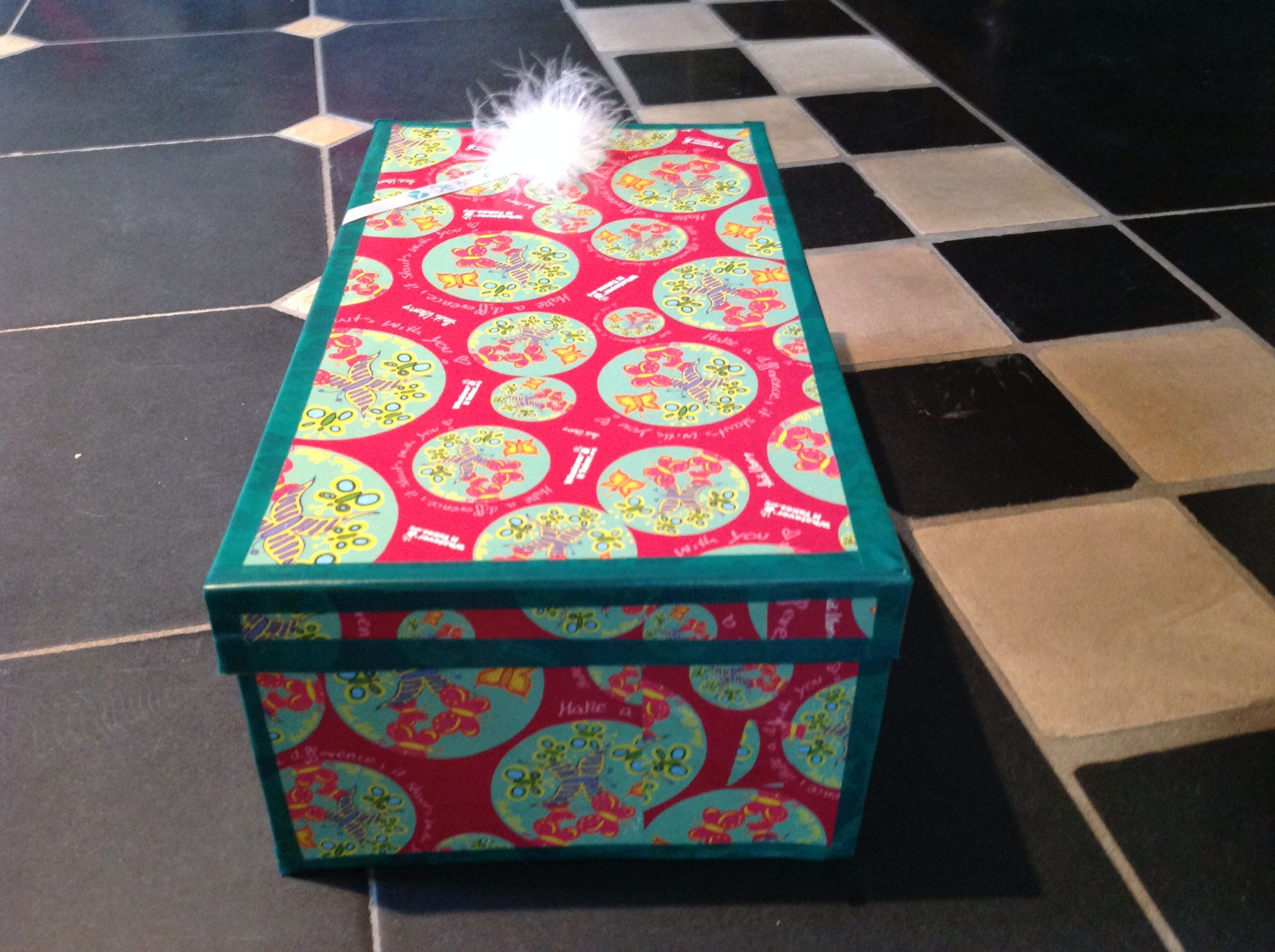 Magnifiek Leuke doos versieren | DOZEN OPPIMPEN | Pinterest #IV62