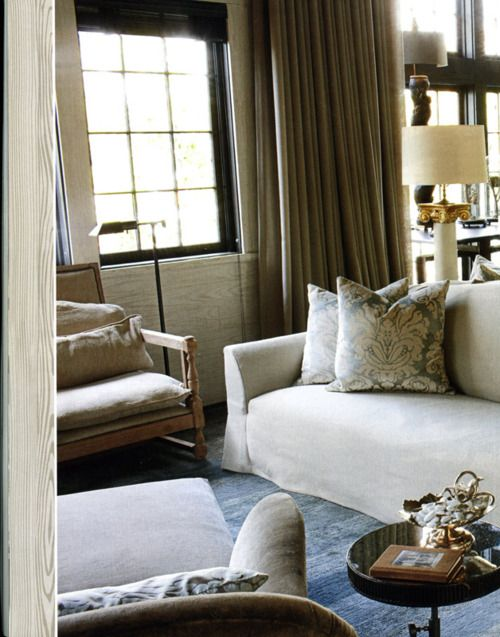 Alabama lake house by designer Susan Ferrier. House Beautiful.