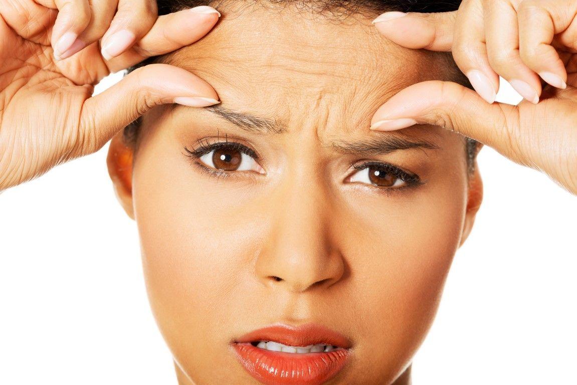 Топ десет начина да се отървем от бръчките Forehead