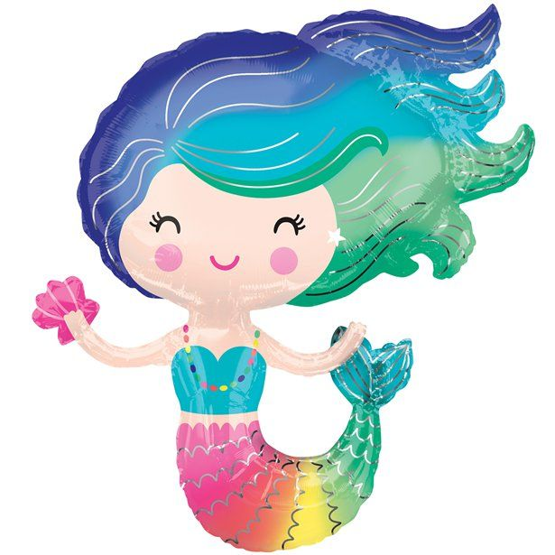 Mermaid Supershape Balloon
