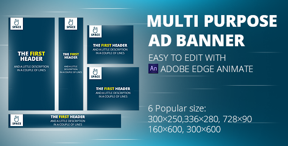 Html5 Animated Banner Templates Space Banner Code Script