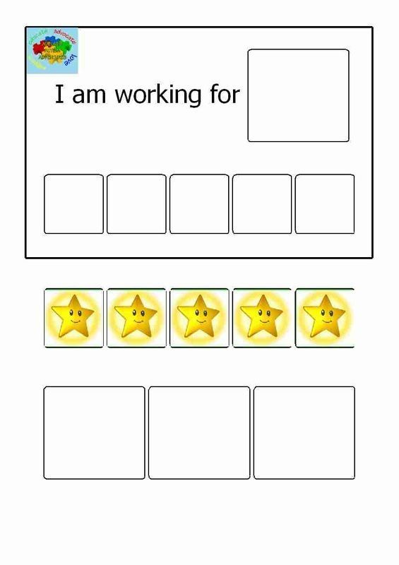 Visual reward choice menu behavior charts education pinterest autism amy and also rh