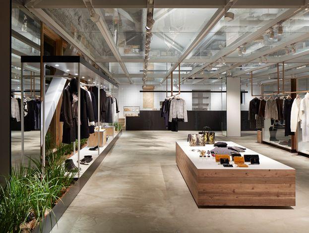 agn s b ginza rue du jour in 2019. Black Bedroom Furniture Sets. Home Design Ideas