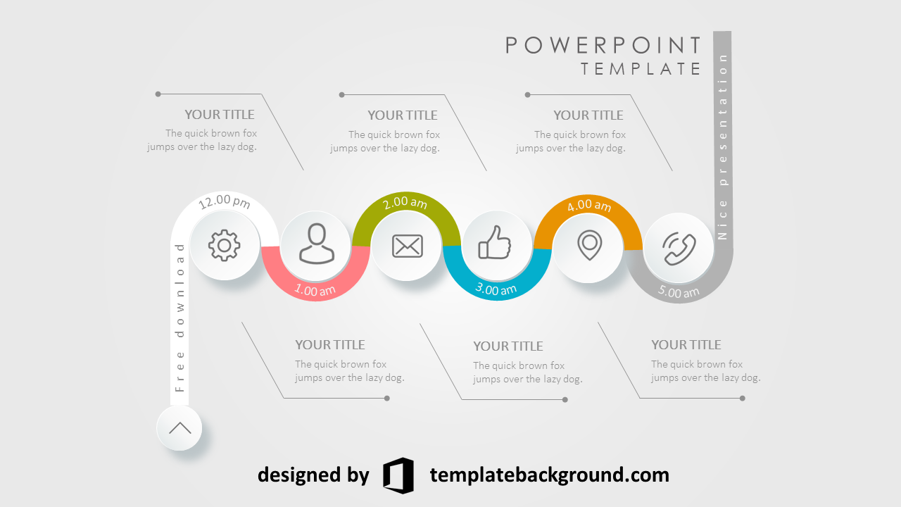 best animated ppt templates free download infographic diagram