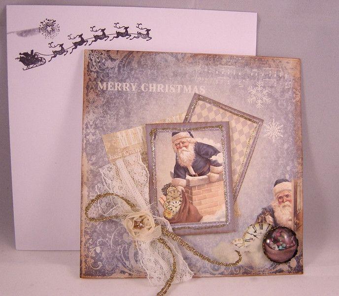 weihnachtskarten exclusive nostalgische weihnachtskarte. Black Bedroom Furniture Sets. Home Design Ideas