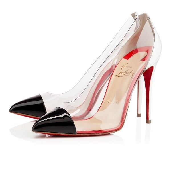 christian louboutin escarpin corneille 100mm noir