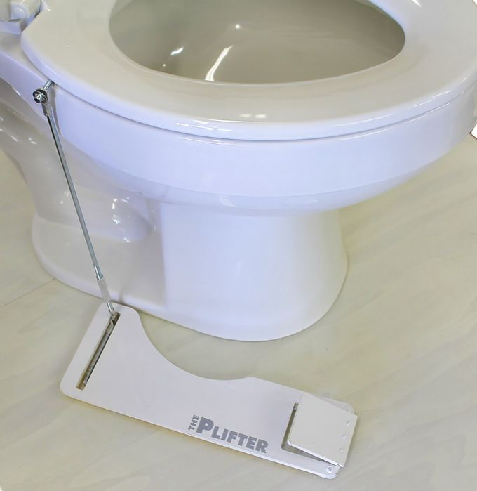 The PLIFTER... a hands-free toilet seat lifter by Davis Meeks ...