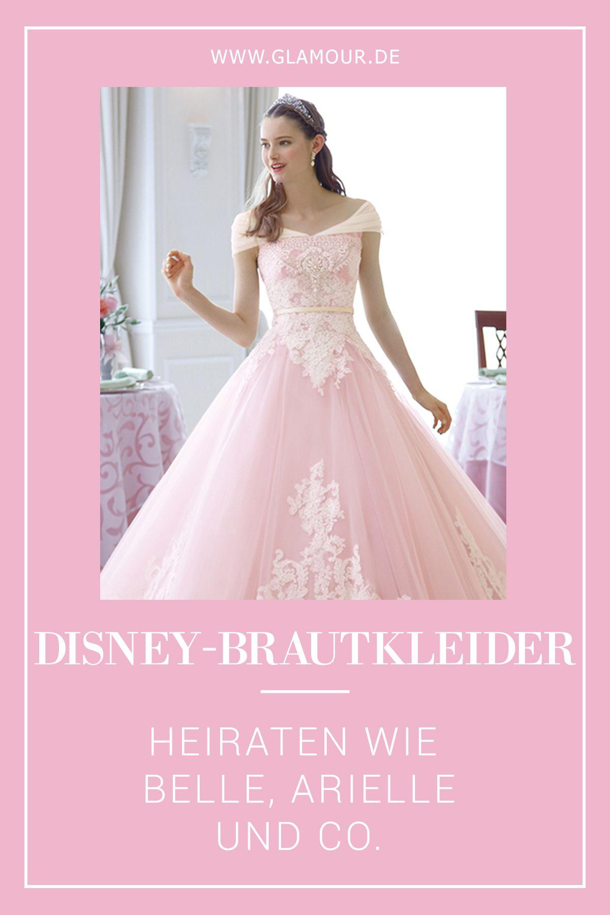 Disney-Brautkleider: Heiraten wie Belle & Co.