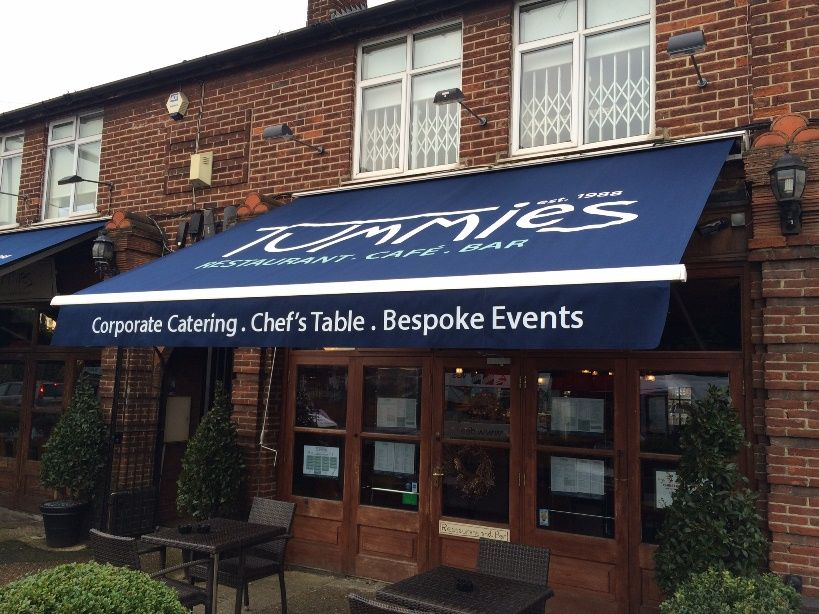 Wow What A Difference For Tummies By Deans Blinds Awnings Blinds Commercial Property Awning