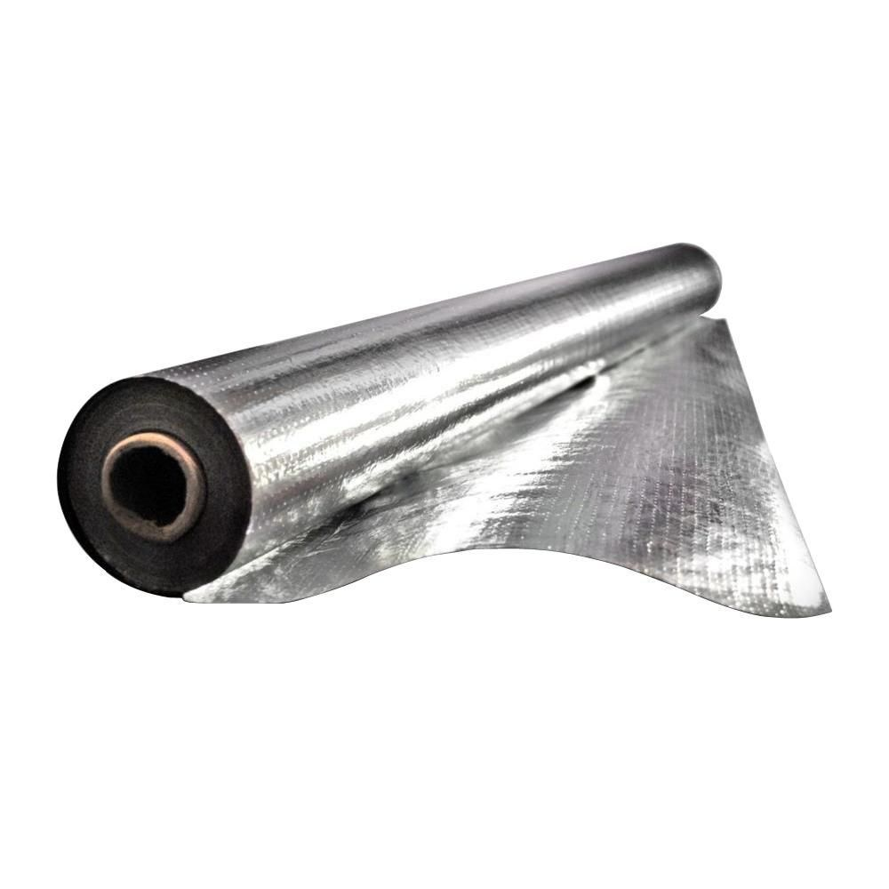 Reach Barrier 48 In X 250 Ft Silvertanium Reflective Attic Insulation Roll 3023 The Home Depot Attic Insulation Attic Renovation Radiant Barrier