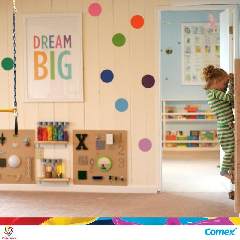#TipComex: Consiente a los pequeños de la familia con un espacio especialmente diseñado para ellos; píntalo con colores pastel y detalles de color brilloso como contraste.