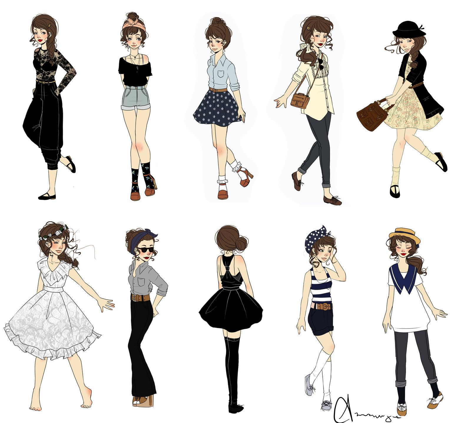 What I Wore IV by on deviantART