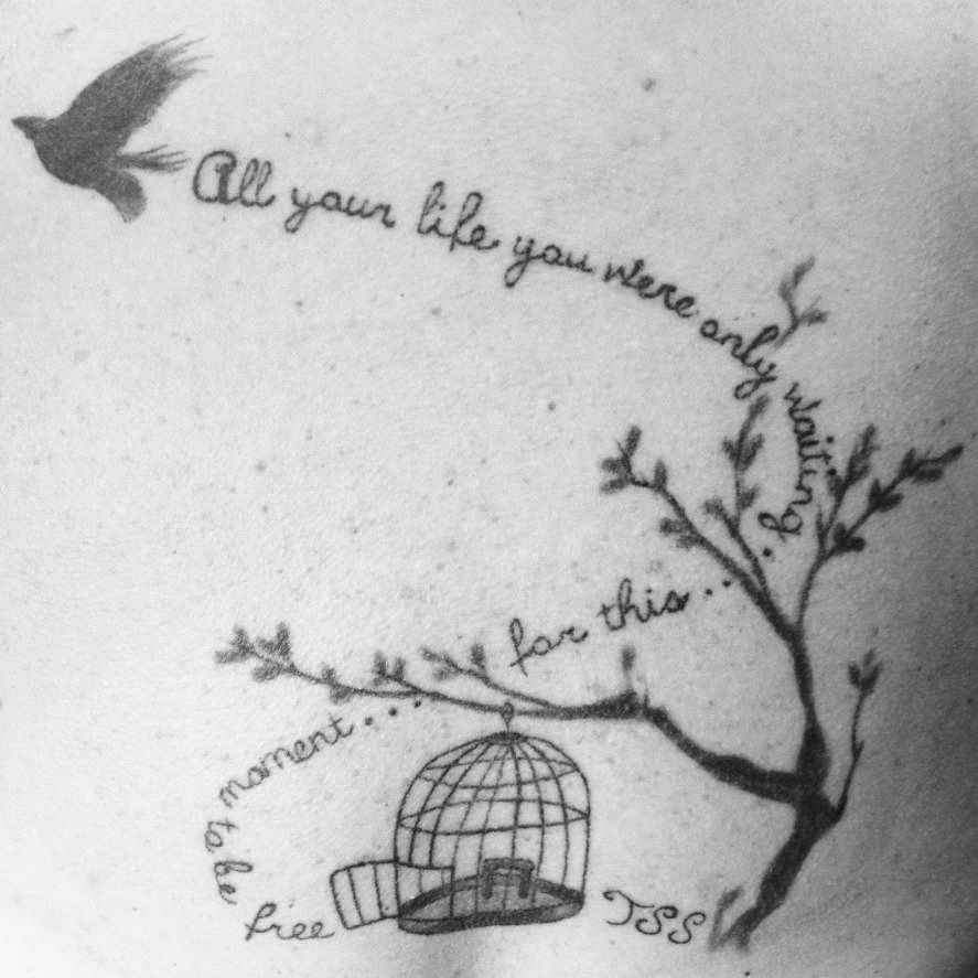 Blackbird Tattoo by Margaret @ Dreamscapes Tattoo/ Scottsdale, Az