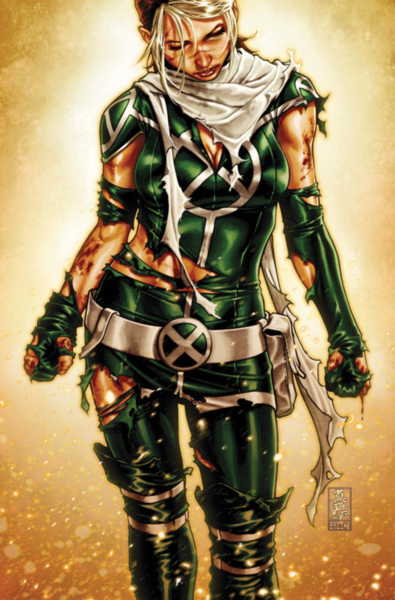 The cover from X-Men Legacy 262...she's such a badass....