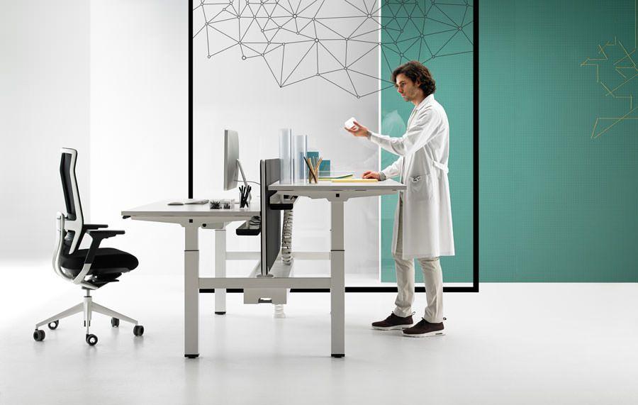 De Par Bureau DesignWorkspace Flex Tnk Chaise Alegre Office HED29I