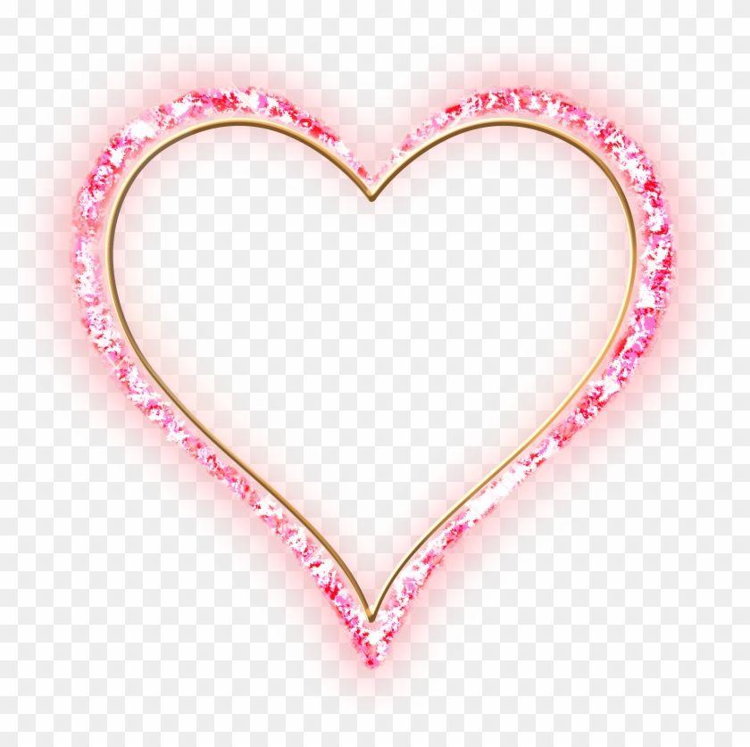 Pink Heart Frames Png Clipart Heart Frame Pink Heart Clip Art
