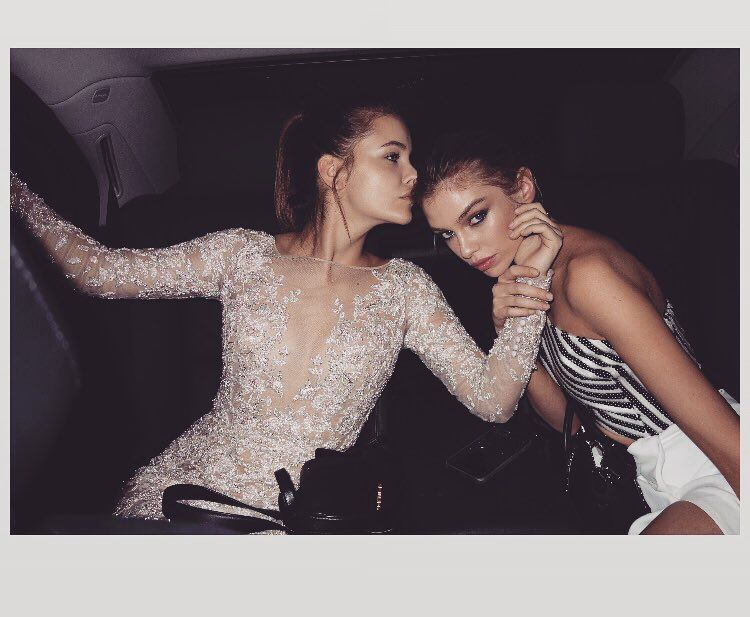 Thursday Inspo // 10 - Bella to Bella: Barbara Palvin, Stella Maxwell, Models, Paris, Vogue