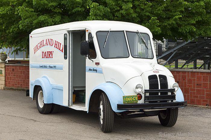 1959 Divco 200c Milk Truck Photo With Images Vintage Trucks