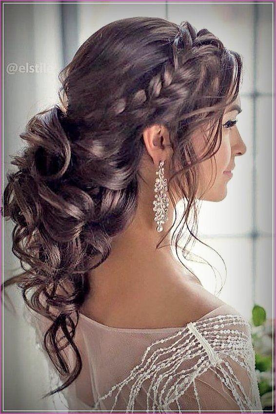 Lockiges Haar Hochsteckfrisur #mediumupdohairstyles