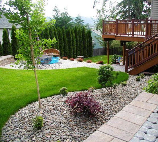 Elegant Gartengestaltung Hanglage Modern #2