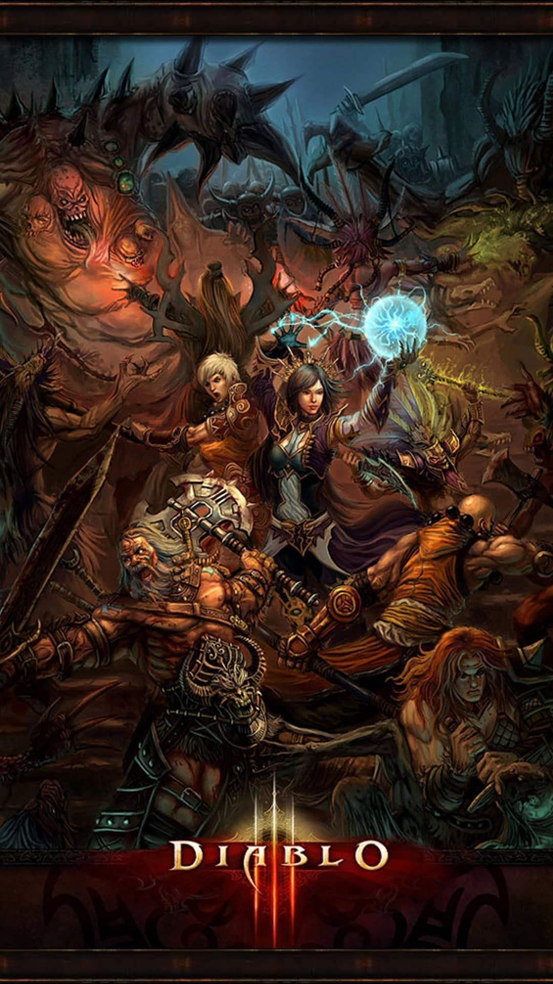 Http Wallpaperformobile Org 16508 Diablo 3 Wallpaper Android Html Diablo 3 Wallpaper Android Diablo Game Diablo Art