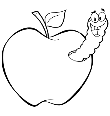 Apple With Worm Clipart Clip Art Library Apple Vector Clip Art Library Clip Art