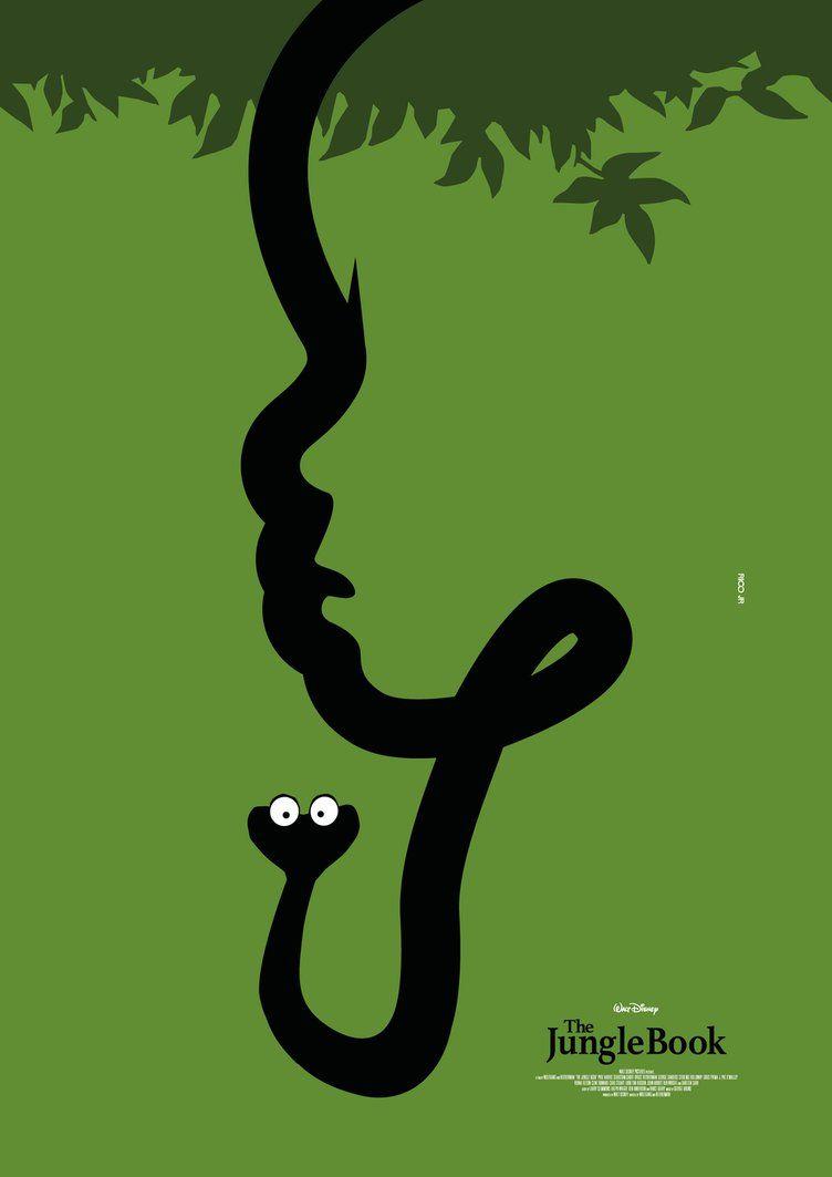The Jungle Book Das Dschungelbuch 1967 Dschungelbuch Illustration Poster