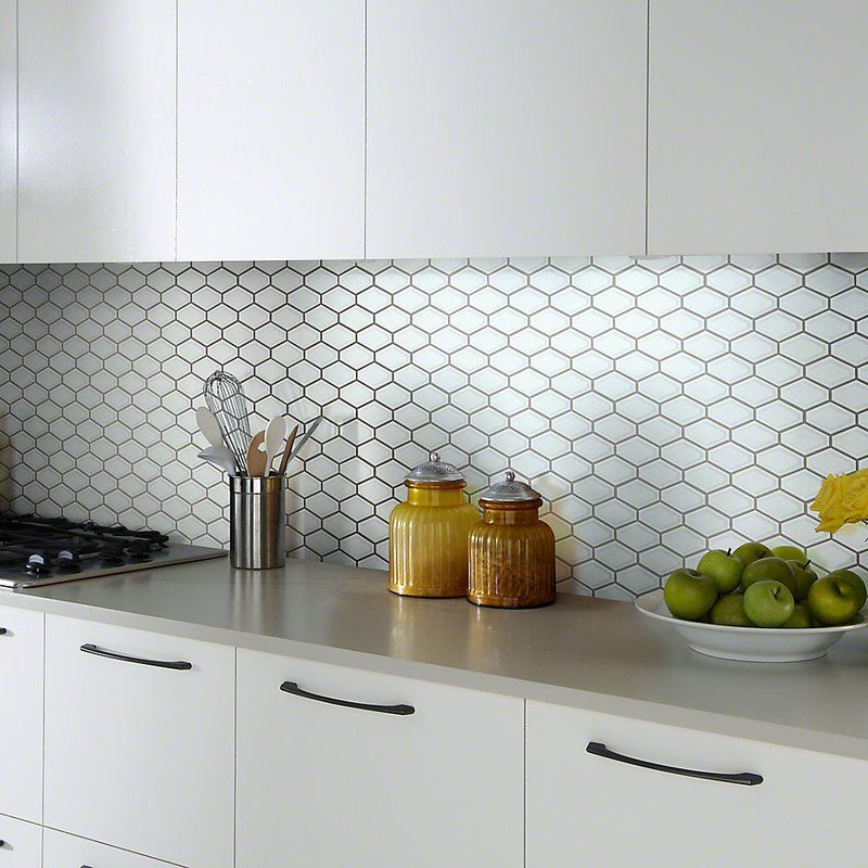 Sophisticated Porcelain Mosaic Tile Modern Kitchen Tiles Kitchen Renovation Kitchen Splashback Tiles