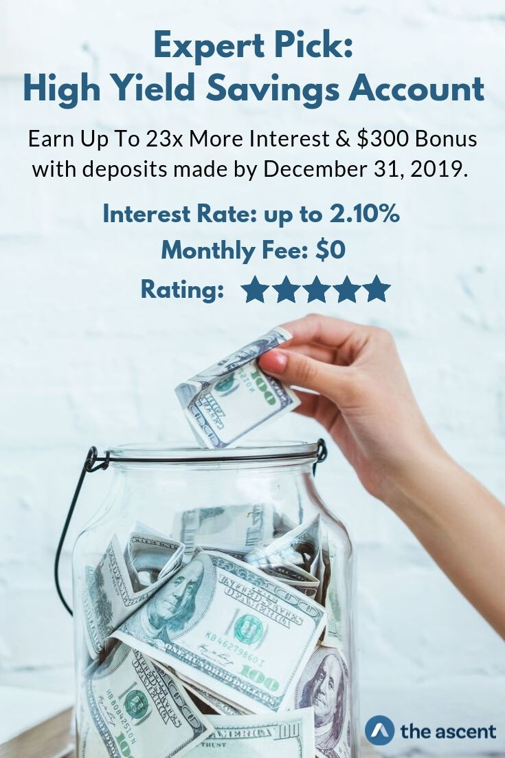 The average bank savings account earns a paltry .09% APY interest rate. With this account you can earn over 2% interest and it's FDIC insured just like any traditional bank savings account.