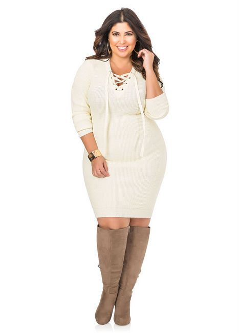 For the Love of a Great Plus Size Sweater Dress… Here are 18 Picks ...