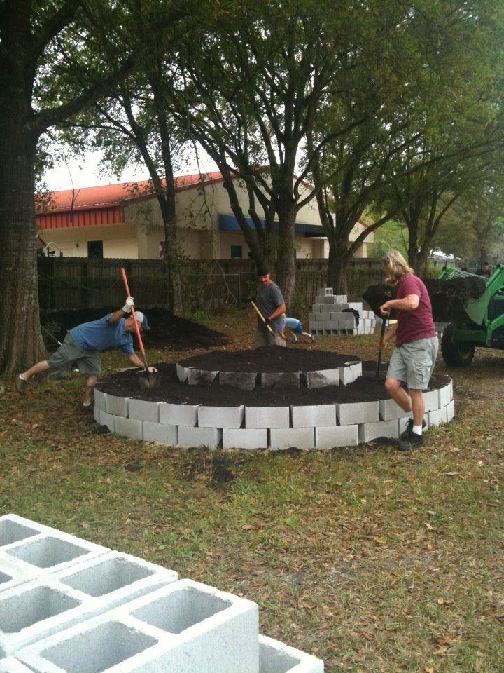 Mandala garden (finished)