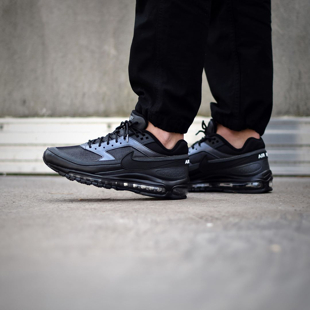 Nike Air Max 97BW QS BlackHematite . Available: SNKRS